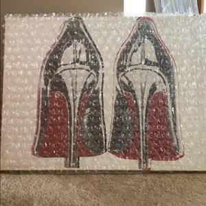 "Oliver Gal ""Louboutins"" canvas print"